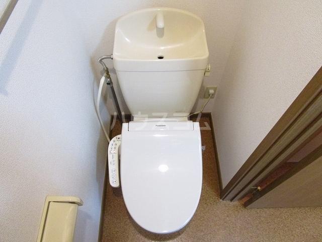 アルトイーガーA 02030号室のトイレ