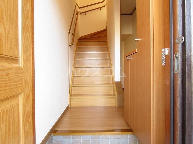 アルトイーガーA 02030号室の玄関