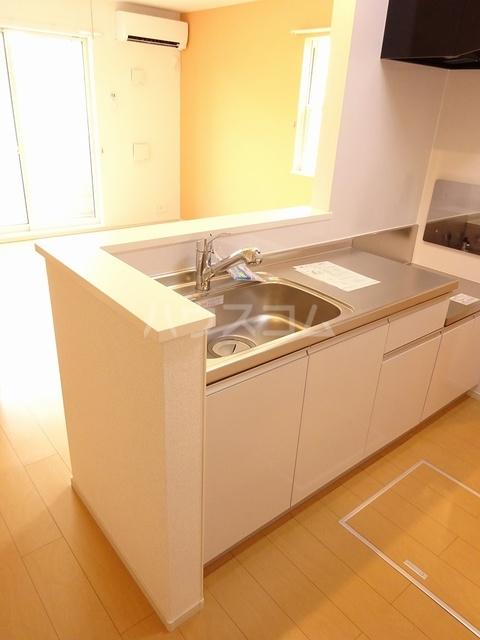 K-TEN Ⅰ 01010号室のキッチン
