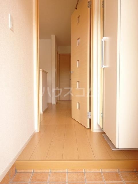 K-TEN Ⅰ 01010号室の玄関