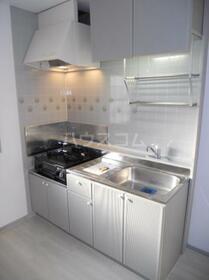 カームネスコーポ 0201号室のキッチン