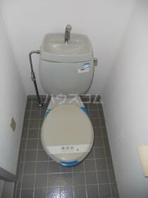 カームネスコーポ 0201号室のトイレ