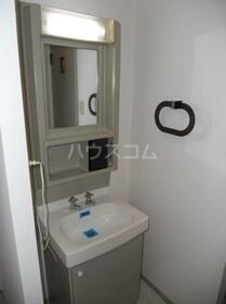 カームネスコーポ 0201号室の洗面所