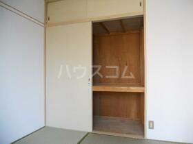 カームネスコーポ 0201号室の収納