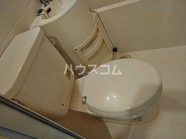 ナカハラビル 4A号室のトイレ