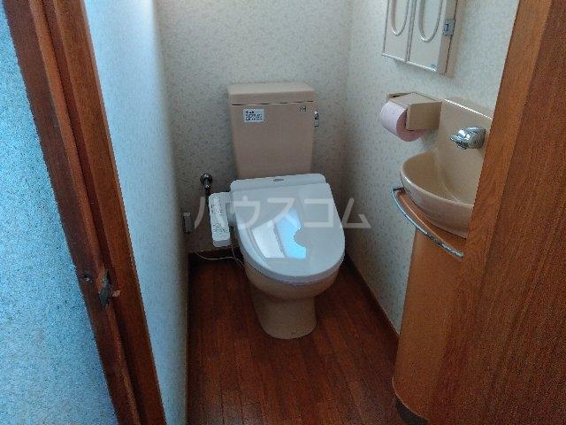 大道戸建のトイレ