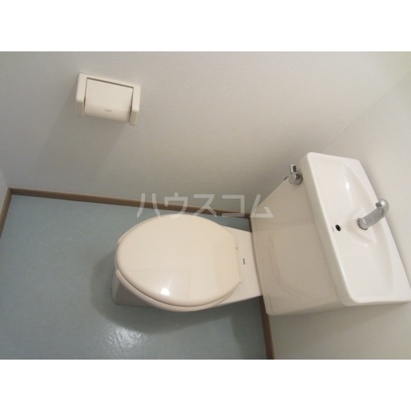 エデンハウス 203号室のトイレ