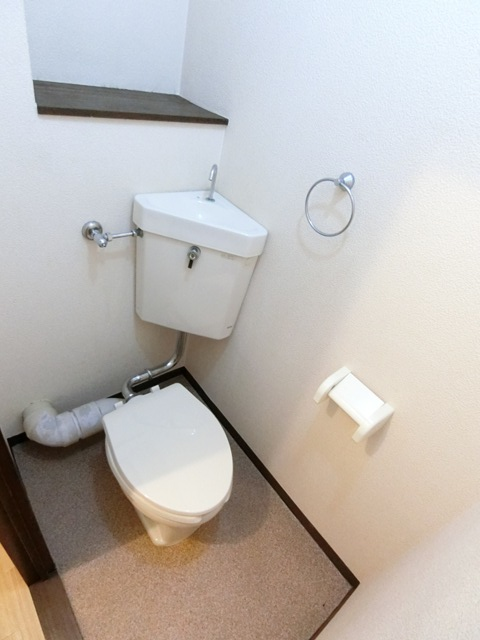 レジデンスコア 105号室のトイレ