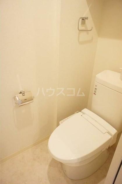 グラース洗足池 302号室のトイレ