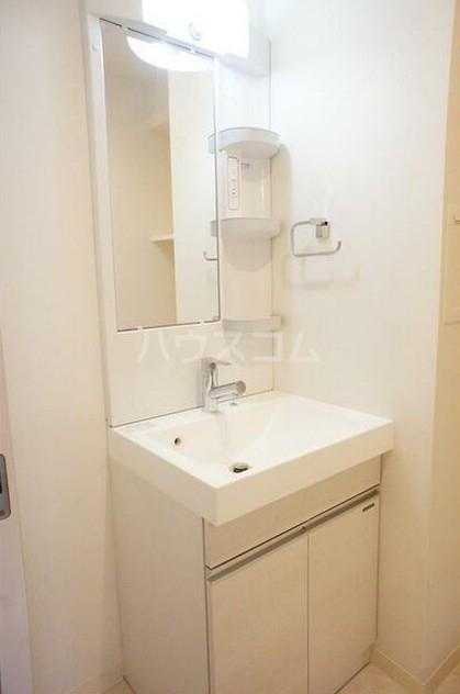 グラース洗足池 302号室の洗面所