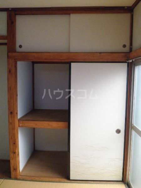 青羽荘 203号室の収納