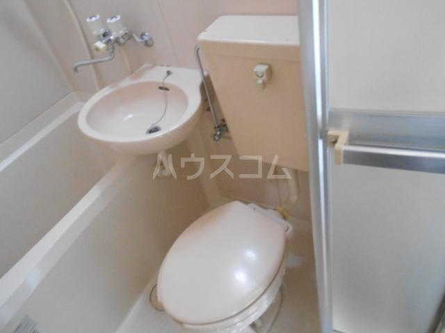 リード豊田 109号室のトイレ