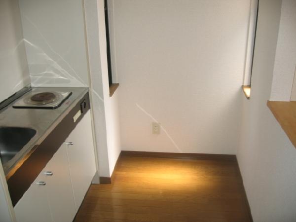 エスペランス神領 206号室のキッチン