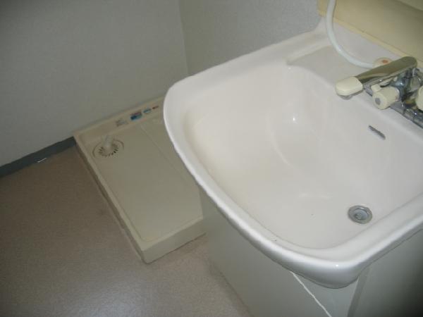 エスペランス神領 206号室の洗面所