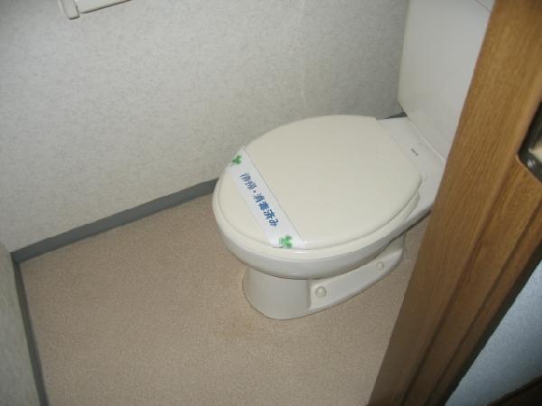 エスペランス神領 206号室のトイレ