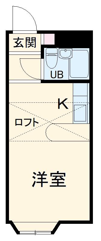 ベルピア土呂第1ー2・102号室の間取り