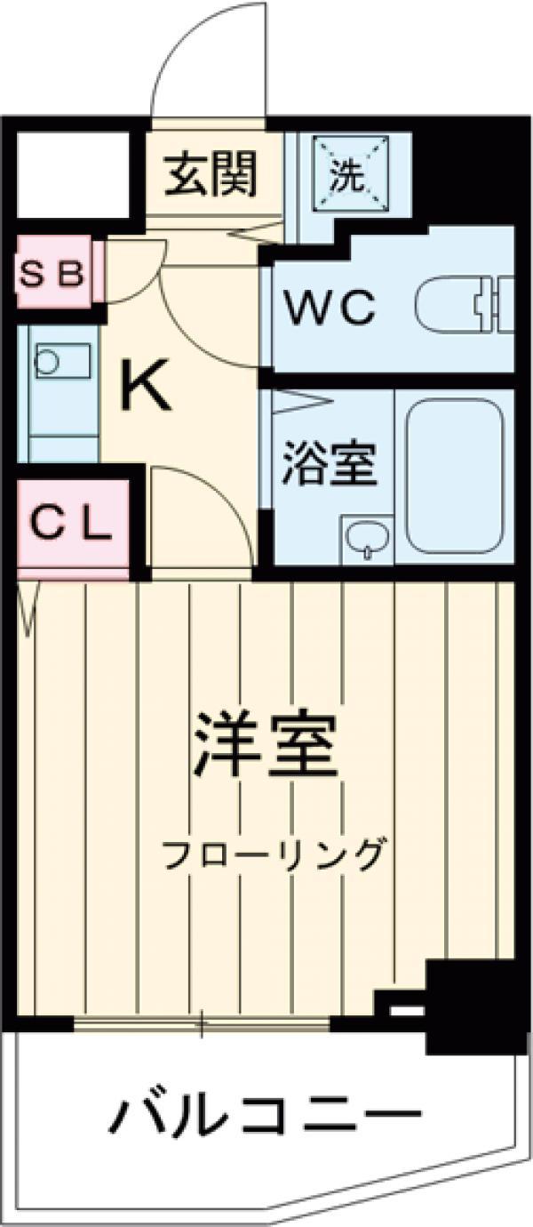 サンテミリオン三田・201号室の間取り