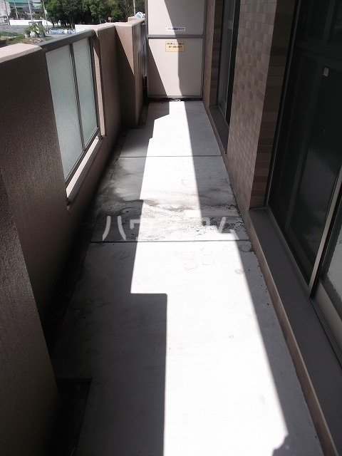 パラッツォ 201号室のバルコニー