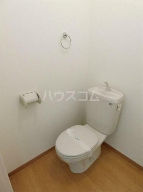 ハーミットクラブハウス根岸A棟 101号室のトイレ