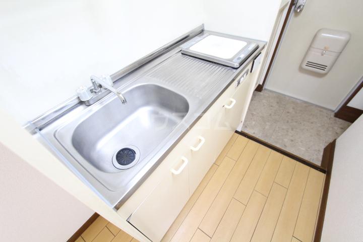 タートル21 407号室のキッチン