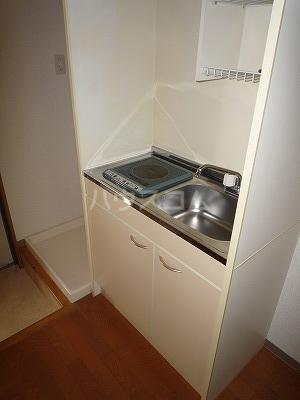 GBⅡ 402号室のキッチン