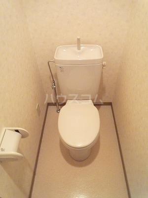 GBⅡ 402号室のトイレ
