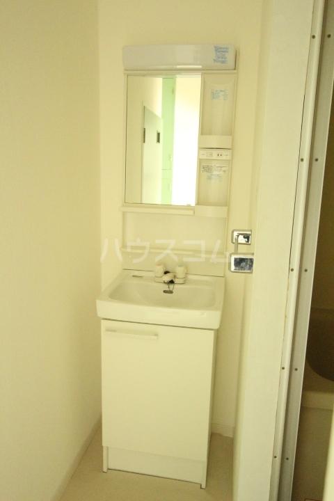 アークセカンド 505号室の洗面所