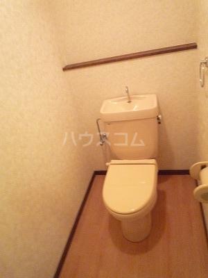 マンションマルカネ 203号室のトイレ