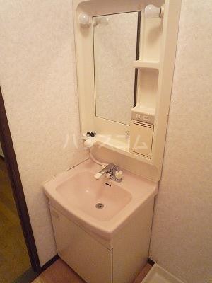 マンションマルカネ 203号室の洗面所