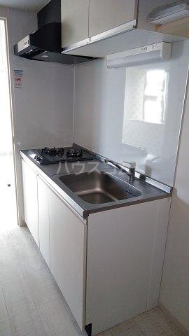 リバーサイドブリーズ 7号室のキッチン