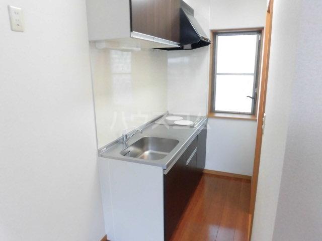 グレイスコート 201号室のキッチン