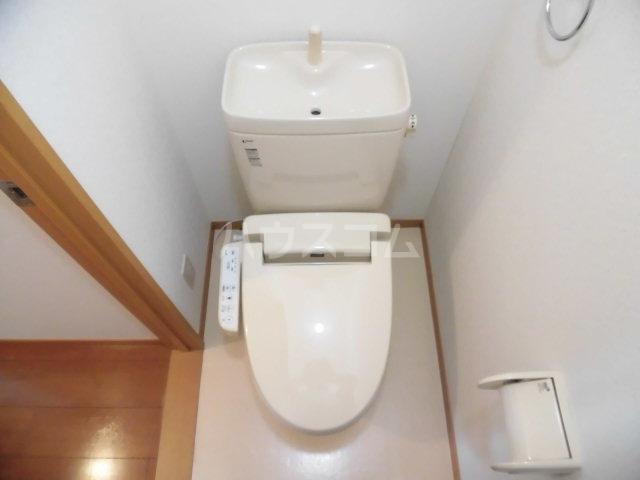 グレイスコート 201号室のトイレ