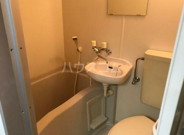 菱和パレス高輪台 201号室の風呂
