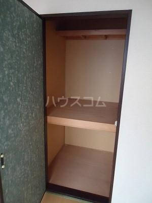 メゾン野見山台ⅡA棟 201号室の収納