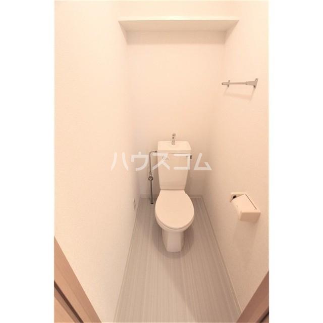ソシア・ルーチェ 303号室のトイレ