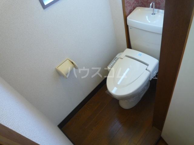 シャルム愛 203号室のトイレ