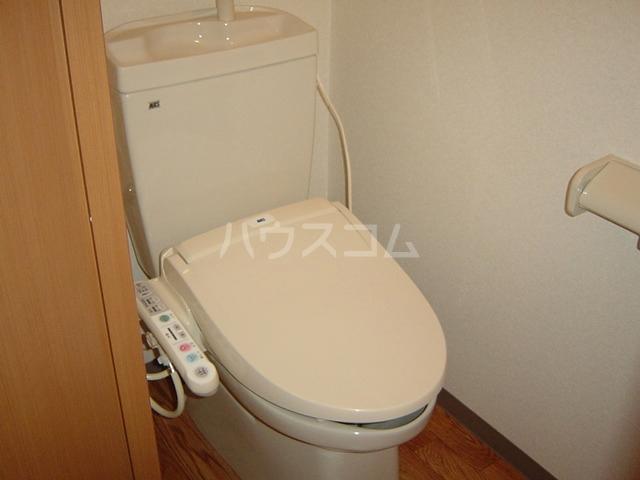 magnolia 207号室のトイレ