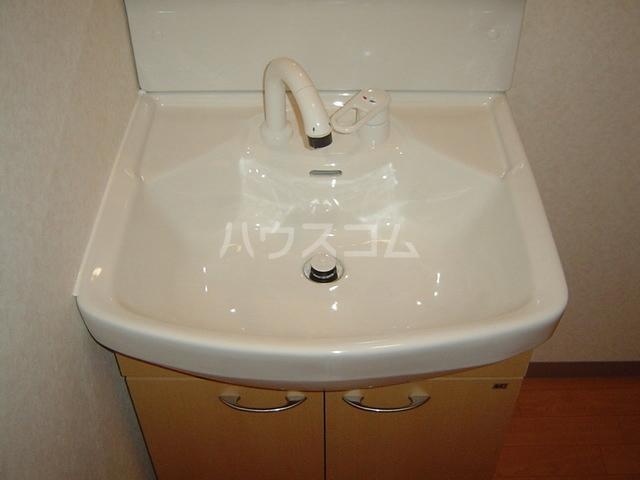 magnolia 207号室の洗面所