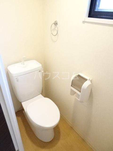 PARQUE HIMORI 206号室のトイレ