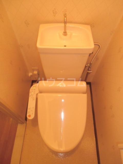 第5オカダビル 603号室のトイレ