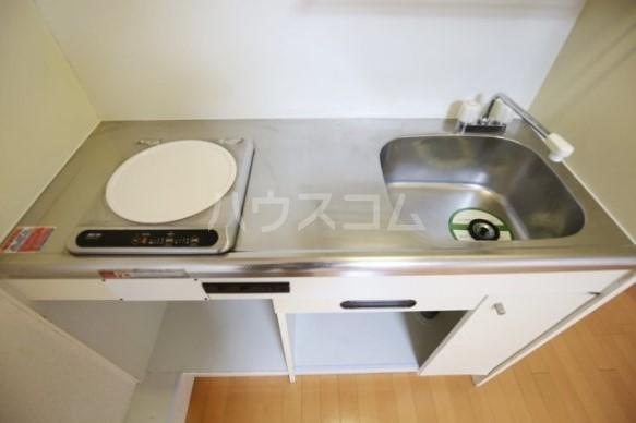 ライオンズマンション雪ケ谷 203号室のキッチン