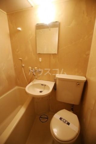 ライオンズマンション雪ケ谷 203号室の洗面所