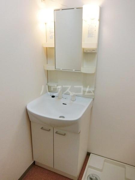 ランドマーク西町 2F号室の洗面所