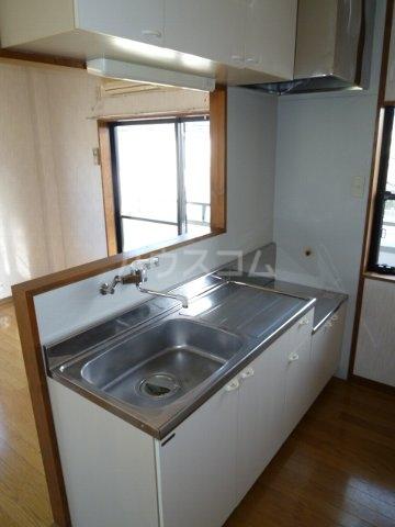 Villa Adonis D号室のキッチン