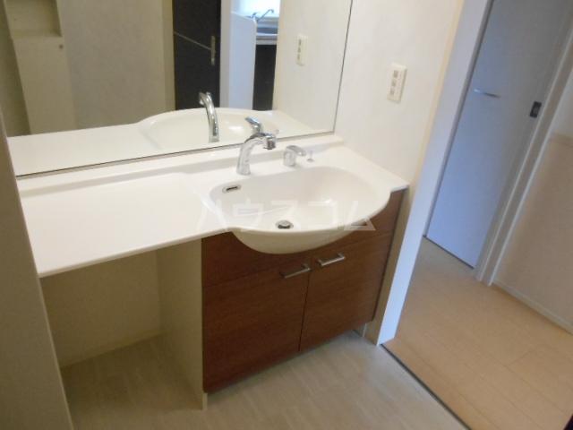 クリーンリバー小坂 101号室の洗面所