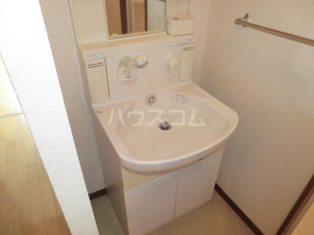 ベイコート 101号室の洗面所