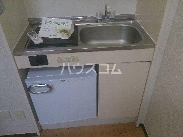 アップル春日井 206号室のキッチン