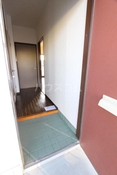 グリーンハイツ武田 2D号室の玄関