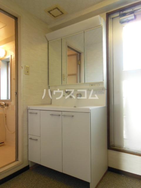 サンシティパークヒルズ秋葉台 801号室の洗面所