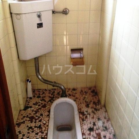 ビットストロング赤羽 102号室のトイレ
